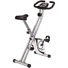 SportPlus X-Bike medición de pulso, sistema de frenos magnético libre de mantenimiento,