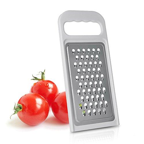 Metaltex 194553 - Rallador de Tomate, Acero Inoxidable, armazón plástico