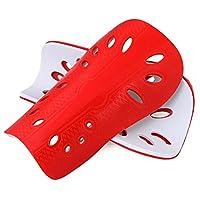 Vi.yo Fútbol Luz Protector De Pierna Deportes Fútbol Shin Guardias Entrenamiento Respirable Shin Pads Lightweight Fútbol Shin Safe Protectores Pads