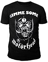 Motörhead  Men's Plain Round Collar T-Shirt