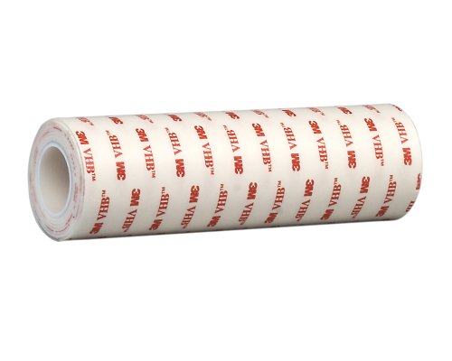 TapeCase 1.875-5-4930 VHB 4930 Klebeband aus Acrylschaum, doppelseitig, fest, 0,64 mm dick, 1,8 x 1,5 m Rolle, 1 Rolle - 1.875