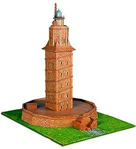 Keranova- Kit de cerámica Torre de Hércules, Color marrón (30108)