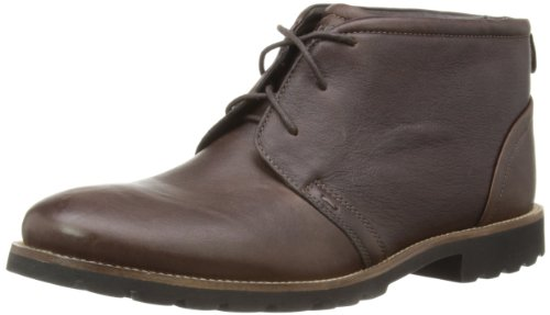 Rockport Mens Charson Chukka Boots V74221 Chocolate Brown 10 UK, 44.5 EU