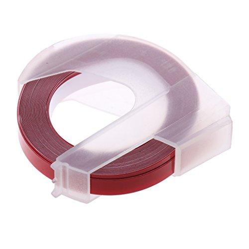 Sharplace Bodenmarkierungsband Klebeband Warnband Markierung - Rot