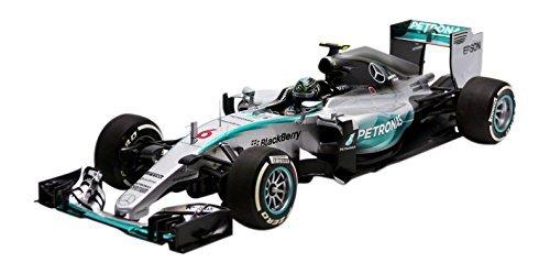 Minichamps 1:18 Escala 2015 Mercedes AMG Petronas F1 Team W06 híbrido nico Rosberg GP de Australia Coche (Plata)