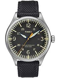 86a142f69c99 Timex Reloj Analógico para Hombre de Cuarzo con Correa en Nailon TW2R38500
