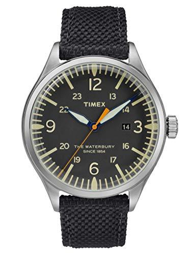 Timex Herren Analog Quartz Uhr Waterbury Traditional