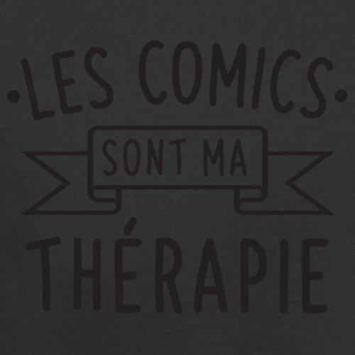 Les comics sont ma thérapie - Femme T-Shirt - 14 couleur Noir