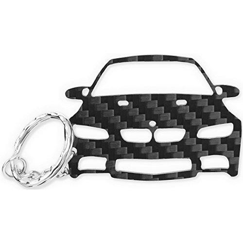 Preisvergleich Produktbild ACF BMW Schlüssel-Anhänger | echtes Carbon | Geschenk-Idee | Tuning | BMW E90 91 92 93 M3 | 316 318 320 325 330 335