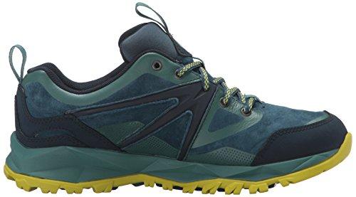 Merrell Pelle Capra Bolt escursione impermeabile di scarpe delle donne Sagebrush verde