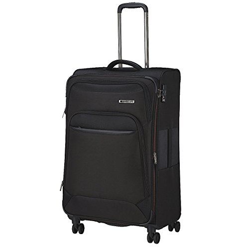 Travelite Notebook Koffer mit Rollen, schwarz (Schwarz) - 2047667