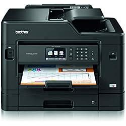 Brother MFC-J5730DW Imprimante Multifonction 4 en 1 jet d'Encre | Business Smart | Imprimession Recto-Verso jusqu'au format A3 | Ethernet & Wi-Fi