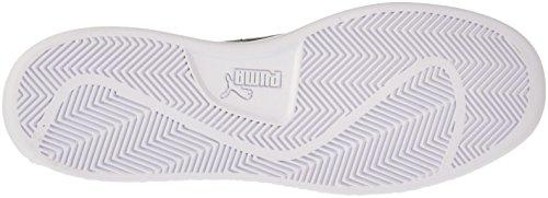 PUMA Men s Smash v2 Sneaker White Black  9 M US