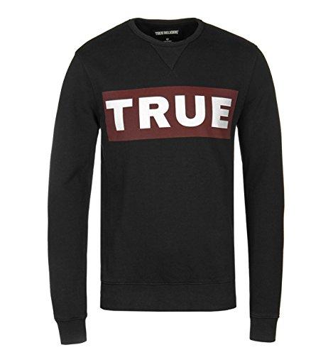 True Religion Sweatshirt Triangle Crew Sweat für Herren in Rosa, XL