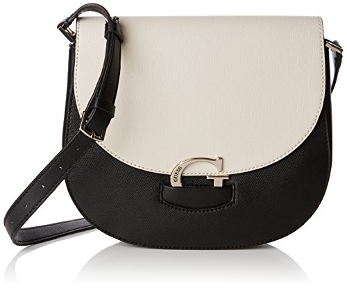 Guess Lexxi Saddle Bag Borsa a Spalla, Donna, Multicolore (Stone Multi)