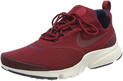 Nike Presto Fly, Scarpe da Ginnastica Uomo Rosso (Team Red/Team Red/Navy/Sail)