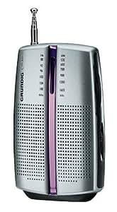 Grundig City 31 Tragbares Radio (UKW-/MW-Tuner) chrome