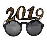 Yazidan 2019 Jahr Party Funny Crazy Fancy Dress Brillen Neuheit Kostüm Party Sonnenbrillen Zubehör Lustige verrückte Kostüm Brillen Neuheit Kostüm Party Sonnenbrillen Partybrillen