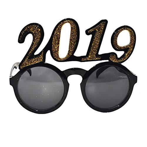 Makefortune lustige Gläser 2019-jährige glückliche Party-Gläser-Feier-Parteibevorzugung für ()