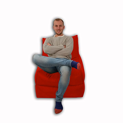 Sitzsack/Sessel, für Innen und Außen, Extra groß, Gaming-Sitz, XXXL, Wetterfest, wasserdicht) - 2