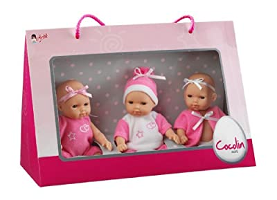 Arias 653253 - Trillizos. Cajas Con 3 Muñecos Bebés 15C de Arias