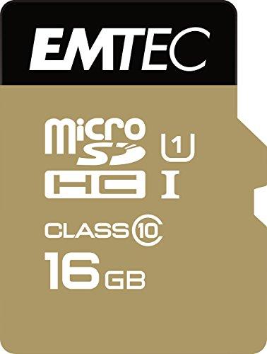 Emtec ECMSDM16GHC10 Micro SDHC Class 10 UHS-I