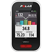 Polar V650 HR - Ciclocomputador para bicicleta con GPS y trasmisor de frecuencia cardíaca H6