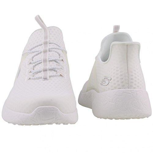 Basket, couleur Blanc , marque SKECHERS, modèle Basket SKECHERS BURST SHINZ Blanc Weiß