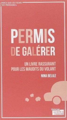 Permis de galrer de Nina Belile (31 octobre 2013) Broch