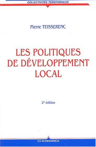 Les Politiques de développement local : Approche sociologique