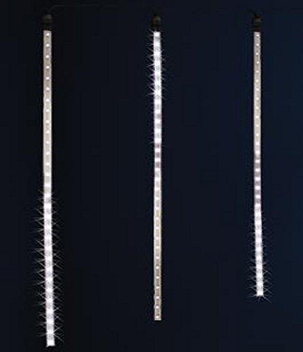 PEGANE Rideau Lumineux extérieur 7 Tubes 210 LED Blanc, H 70 x L 210 cm
