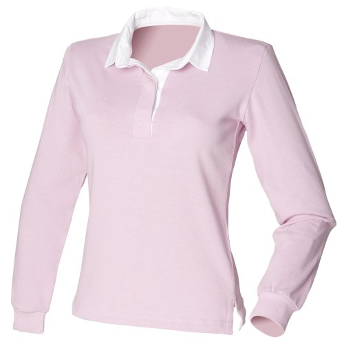 Front Row - Polo 100% Cotone - Donna Fuschia