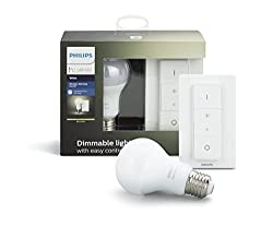 Philips Hue Smart Wireless Dimming Kit (Installation-free, Exclusive For Philips Hue Lights, Compatible With Amazon Alexa, Apple Homekit & Google Assistant)