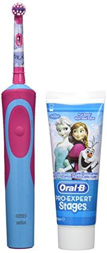 oral-b-frozen-elettrico-b-dentifricio-ricaricabile-e-orale-spazzola-blu-e-rosa