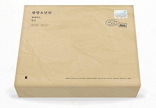 BTS - 2018 SEASON'S GREETINGS Desk Calendar+Diary+Making DVD+Postcards+Extra Photo