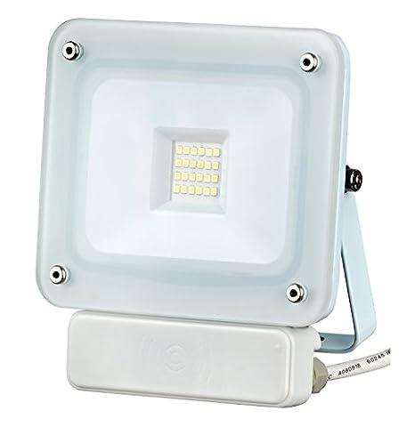 20W LED Fluter Außenleuchte Flutlicht weiß SLIM IP65 Bewegungsmelder Wegeleuchte Sensorleuchte #1310
