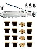 Pistolet gâchette de sablage pour sableuse mobile + 20 Buses Céramique (noires)