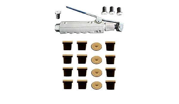 Sandstrahlpistole mit Abzug f/ür mobilen Sandstrahler schwarz 20 Keramikd/üsen