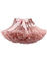 YOUJIA Faldas del Tutú para Bebés y Niñas Clásica Princesa Ballet Vestido 70-150CM Rosa