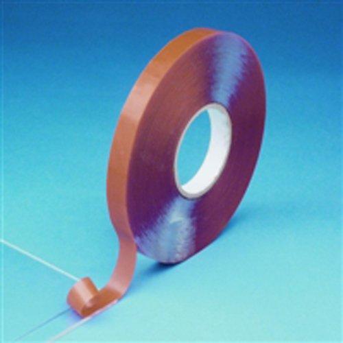 Thomafluid Hochleistungs-Klebeband aus PET bis +90 °C - doppelseitig, Stärke: 0,5 mm, Breite: 25 mm, Stärke: 0,5 mm, Länge: 33 m
