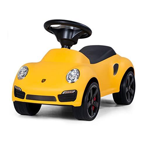 Liuwenna Kinder Twist Auto Vier Wheeler Swing Spielzeugauto Schiebe Walker Rutschfester Mute Reifen Mit Trompete Last Tragen 110 kg 1-3 Jahre Altes Geschenk (Color : RED, Size : 65 * 30.7 * 37CM) - Und Reifen 4 Wheeler-räder