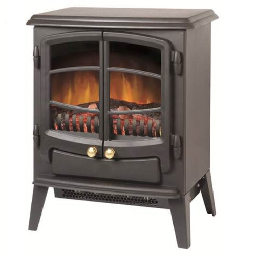 Cheapest Price for Dimplex EWT20 Branded 1kW or 2kW OptiFlame Electric Stove Free Standing Black Reviews