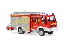 """Reitze Rietze 68300 """"Iveco Magirus EuroHLF 20/16 Firefighters Wurmlingen - Camión de Bomberos"""