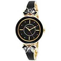 Anne Klein womens black strap watch - AK3298BKGB