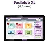 Tablette Facilotab XL WiFi (Tablette simplifiée pour senior)