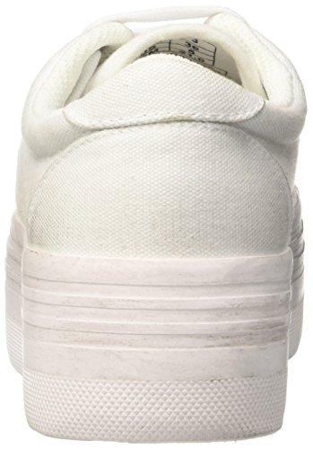 Jeffrey Campbell Damen Zomg Jcpzomgcanwash-White Sport & Outdoorschuhe Bianco