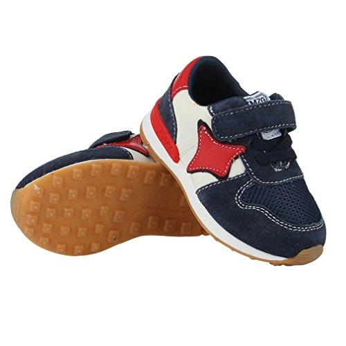 la-vogue-zapatillas-nino-unisex-deporte-running-antideslizante-azul-oscuro-talla-23