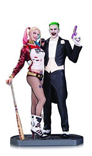 DC Comics aug160374Suicide Squad Film Statue Joker und Harley (Harley Quinn Zeichen)