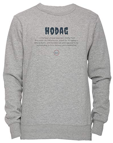een Unisex Herren Damen Jumper Sweatshirt Pullover Grau Größe XL Men's Women's Jumper Grey X-Large Size XL ()