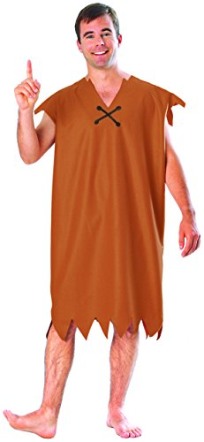 Men's XL Size Barney Rubble Costume